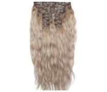 22 Inch Beach Wave Double Hair Extension Set (Various Shades) - Scandinavian Blonde