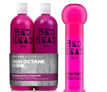Bed Head Shiny Shampoo, Conditioner and Styling Cream Set