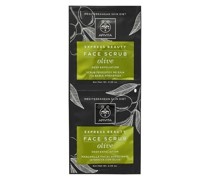 Express Face Scrub for Deep Exfoliation - Olive 2x8ml