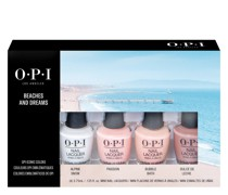 Beach and Dreams Mini Nail Polish Gift Set 4 x 3.75ml