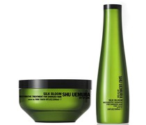 Silk Bloom Shampoo (300ml) und Behandlung (200ml)