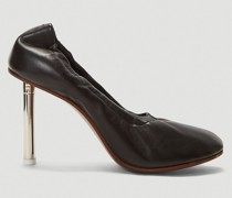 Lighter-Heel Ballerina Pumps