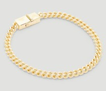 Rounded Curb Thin Bracelet