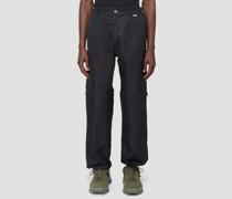 Haseen Zip-Fastening Pants