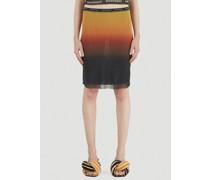 Sunset Mesh Skirt