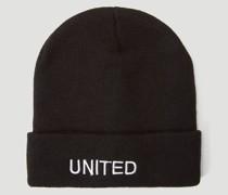 Embroidered-Logo Beanie Hat