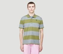Tiny Teddy Striped Polo Shirt