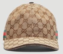 Original GG Canvas Web Baseball Cap