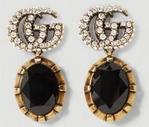 GG Crystal-Embellished Earrings