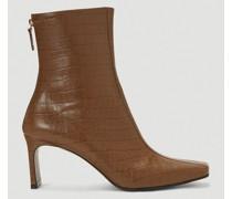 Centre-Seam Embossed Boots