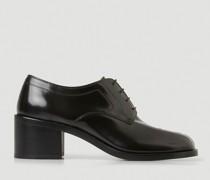 Tabi Lace-Up Heeled Shoes