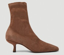 Audrey Stretch Ankle Boots