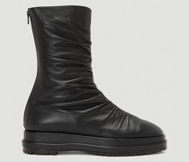 Platform Wrinkle Boots