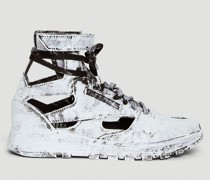 Classic Leather Tabi High Painted Sneakers