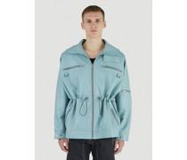 Adhil Faux-Leather Jacket