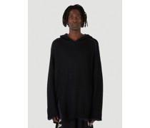 Reversible Raglan Hooded Sweater