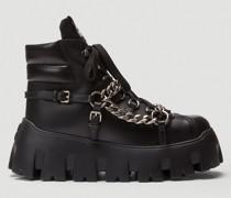 Chain Platform Sneakers