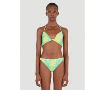 Recycled Printed Bikini Top