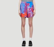 Fantasma Rave Silk Shorts