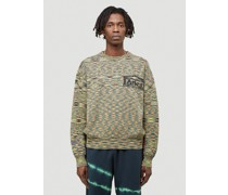 Magic Eye Temple Knit Sweater