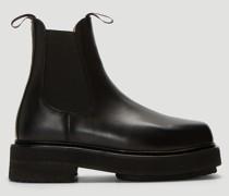 Ortega Leather Chelsea Boots