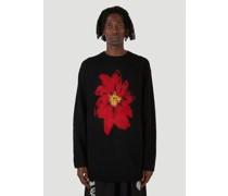 Floral Round Neck Sweater