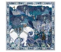 White Elephant 90x90 multi blue