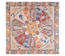 Persisches Horoskop 140x140 multi bordeaux