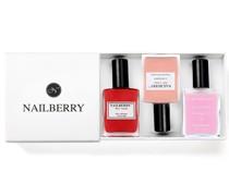 Nailberry Farbiger Nagellack & Nagelpflege + Geschenkbox (Varianten)