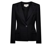 Black twill blazer
