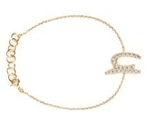 Crystals logo bracelet