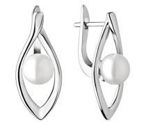 Minimalistische Ohrringe mit Perlen Kajal