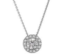 Halo-Halskette mit Diamanten Vicky