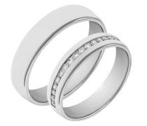 Memoire-Ring und flacher komfortabler Ring Lance