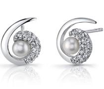 Ohrstecker mit Perlen Linzi