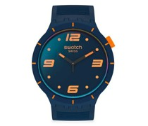 Futuristic Blue SO27N110 Quarz Unisex-Armbanduhr