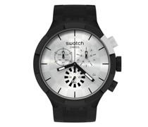 Chequered Silver SB02B404 Quarz Unisex-Armbanduhr