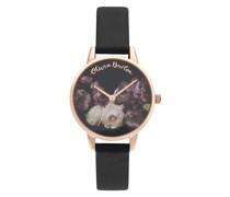 BLACK & ROSE GOLD FINE ART OB16WG68 Quarz Armbanduhr