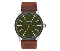 Sentry Leather A105-2334 Quarz Armbanduhr
