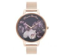 Fine Art OB16WG22 Quarz Armbanduhr