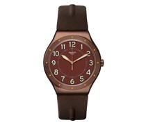 IRONY VINTAGE COPPER TIME YWC100 Quarz Unisex-Armbanduhr