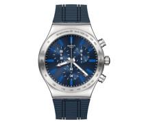 ELECTRIC BLUE YVS478 Quarz Armbanduhr