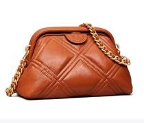 Weiche, Kleine, Glänzende Fleming Crossbody Bag Mit Rahmen
