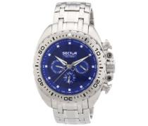 Herren-Armbanduhr XL 600 Chronograph Quarz Edelstahl R3253573002