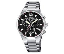 Herren-Armbanduhr Analog Quarz Edelstahl 10125/4