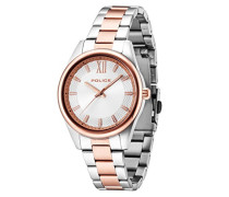 Police Unisex-Armbanduhr ELEGANCE Analog Quarz 14493MSTR/04M