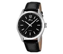 Herren-Armbanduhr Analog Quarz Leder 18149/2