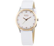 Boccia Damen-Armbanduhr XS Titanium Analog Quarz Leder 3227-06