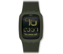 Swatch Quarzuhr Unisex Swatch Touch Olive  39 mm