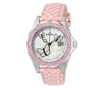 Angel Damen-Armbanduhr Analog Quarz Leder - 23548